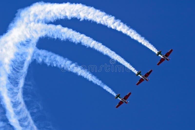Visualizzazione Aerobatic fotografia stock