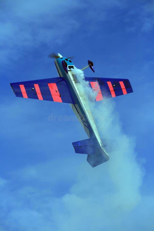 Visualizzazione Aerobatic immagine stock libera da diritti