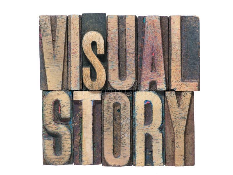 Visueel geïsoleerd verhaal royalty-vrije stock foto