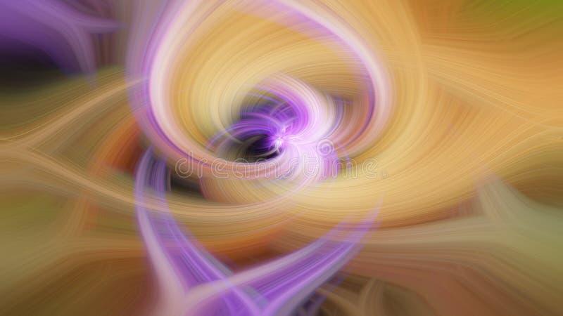 Visueel krachtig abstract patroon met hypnotic effect royalty-vrije stock foto