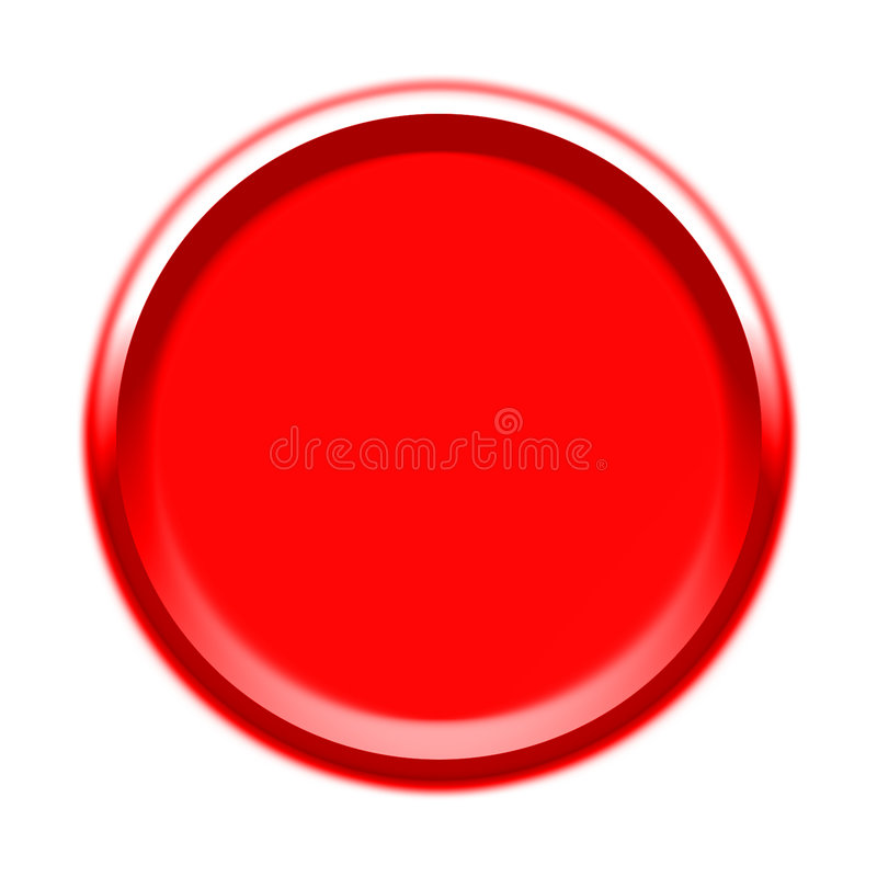Visuel de bouton rouge illustration libre de droits