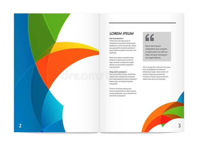 Visuele identiteit met Brief van de de elementen de veelhoekige stijl van het brievenembleem stock illustratie