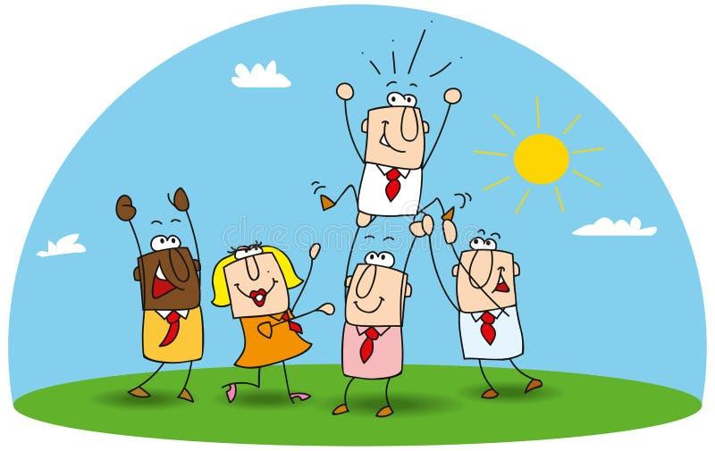 vitória ilustração royalty free