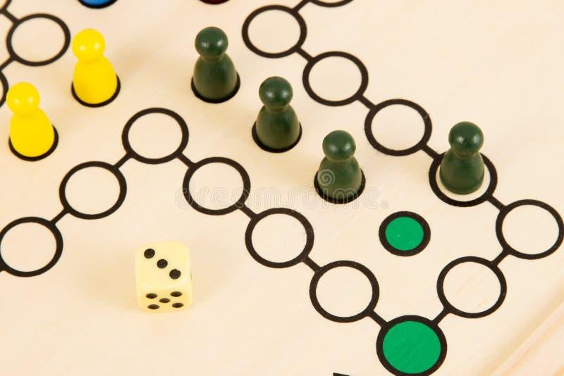 Vitória do jogo de mesa imagens de stock royalty free