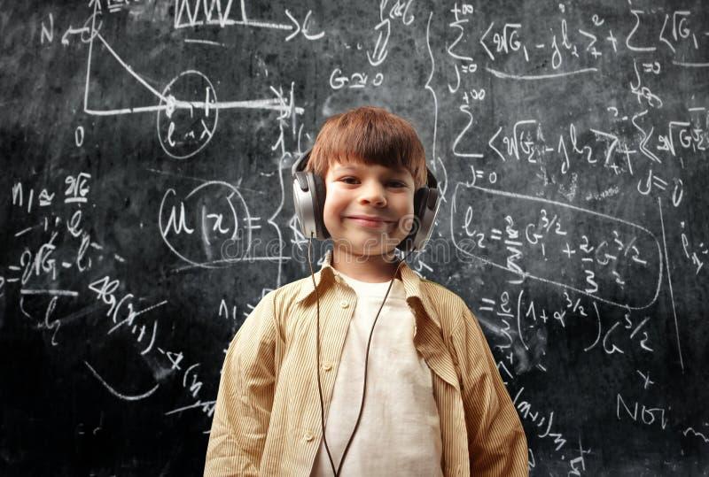 Vitórias da música sobre matemáticas foto de stock royalty free