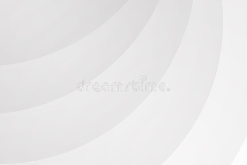 Vit abstrakt bakgrundsvektortapet stock illustrationer