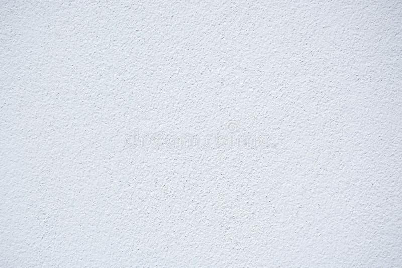 Vit bakgrund för murbrukväggtextur arkivbild