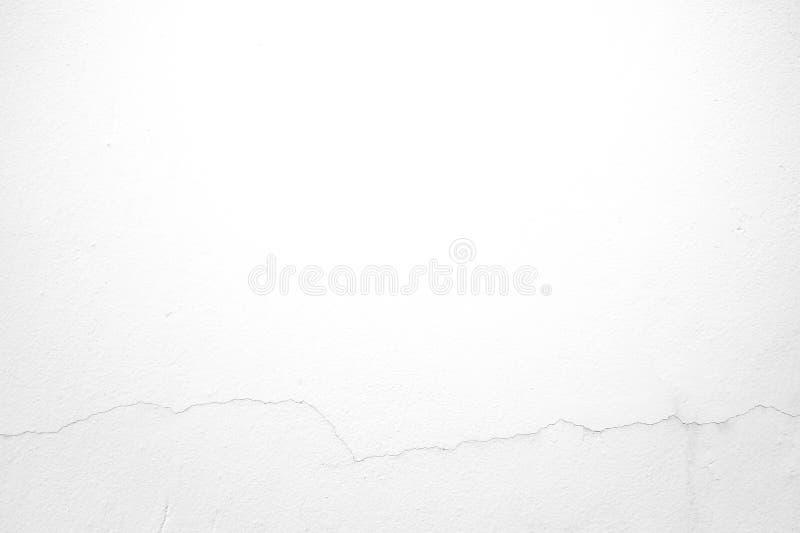 Vit bakgrund för murbrukväggtextur arkivbilder