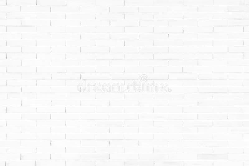 Vit bakgrund för textur för grungetegelstenvägg arkivfoto