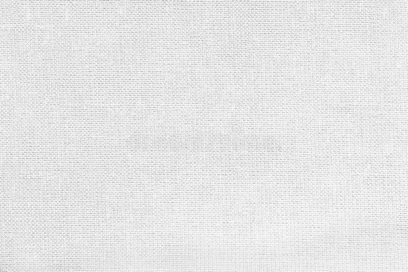 Vit bakgrund från ett textilmaterial Tyg med naturlig textur _ arkivbilder