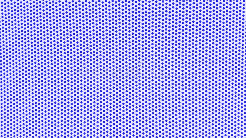 vit bakgrund med blåa prickar arkivfoton