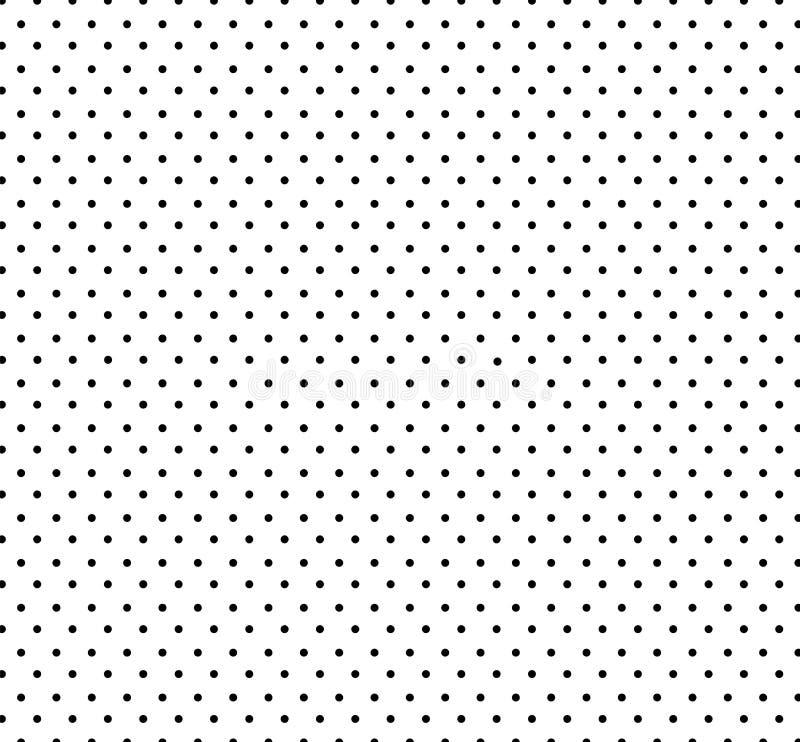 Vit bakgrund med den lilla svarta prickmodellen S?ml?s cirkelmodell f?r ungar Baby showergarneringbakgrund stock illustrationer