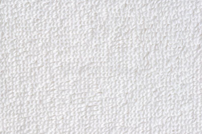 vit bomullstextur av handduken gillar bakgrund arkivbilder