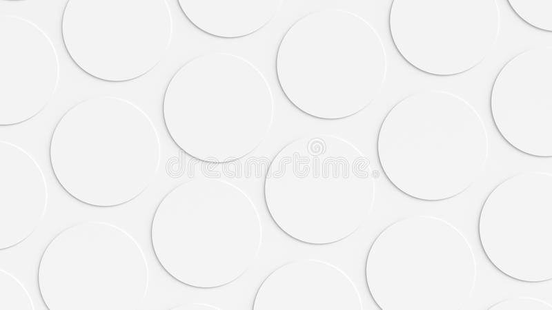 Vit cirkelbakgrund arkivbilder