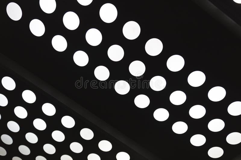 Vit cirkelprick av ljust hålabstrakt begrepp stock illustrationer