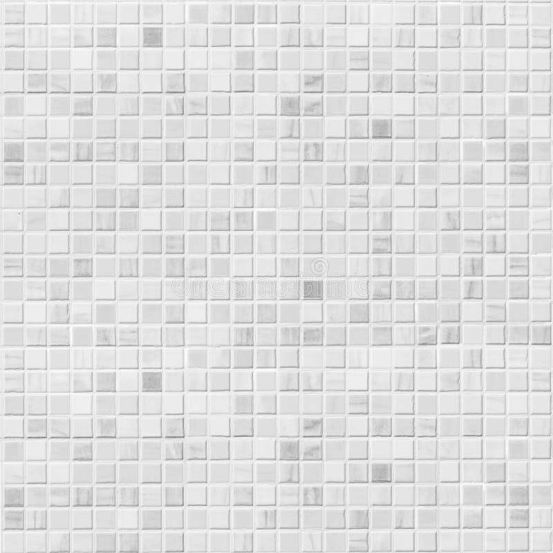 Vit eller grå tegelplattaväggbakgrund arkivbilder