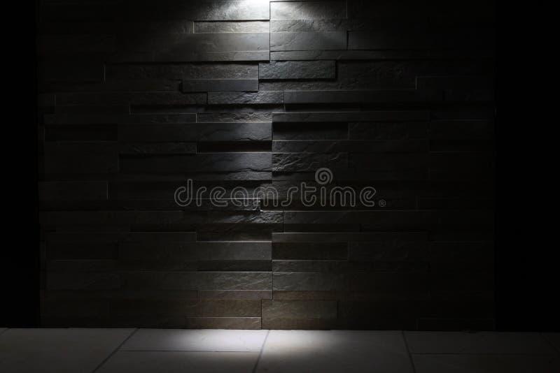 Vit fläck på väggen royaltyfri fotografi