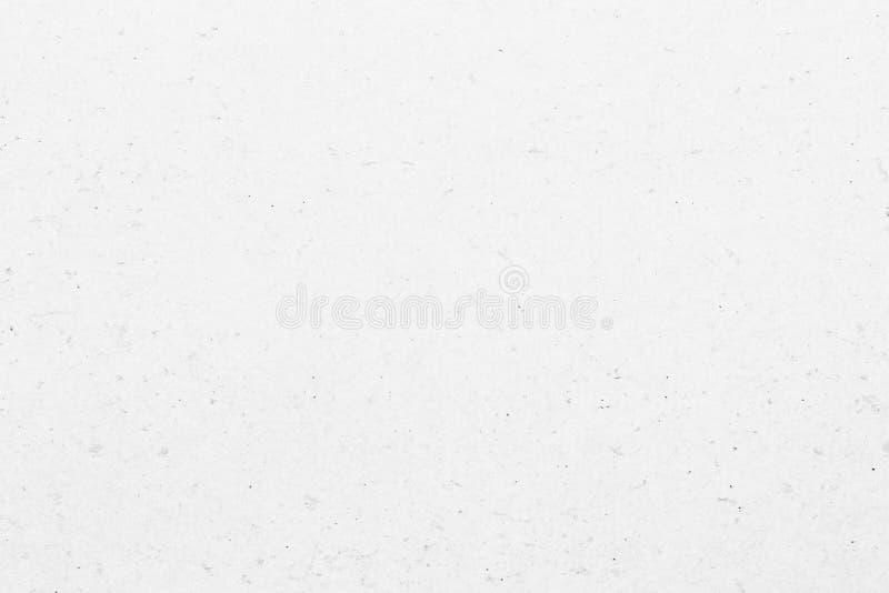 Vit gr? bakgrund f?r grungepapperstextur royaltyfri bild