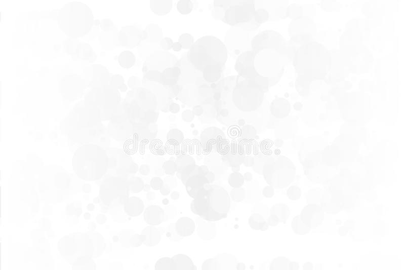 Vit-grå färger bakgrund Ljus textur med bokeheffekt Scalable vektordiagram Delikat elegant modell royaltyfri illustrationer