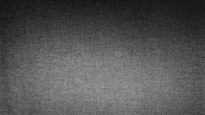 Vit grå svart linnekanfas Lutningbakgrundsbilden, textur royaltyfri foto
