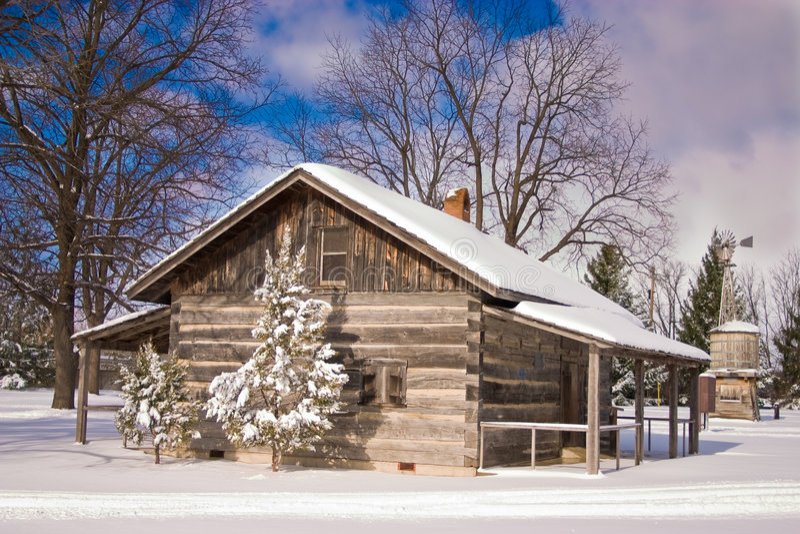 vit jul arkivbild