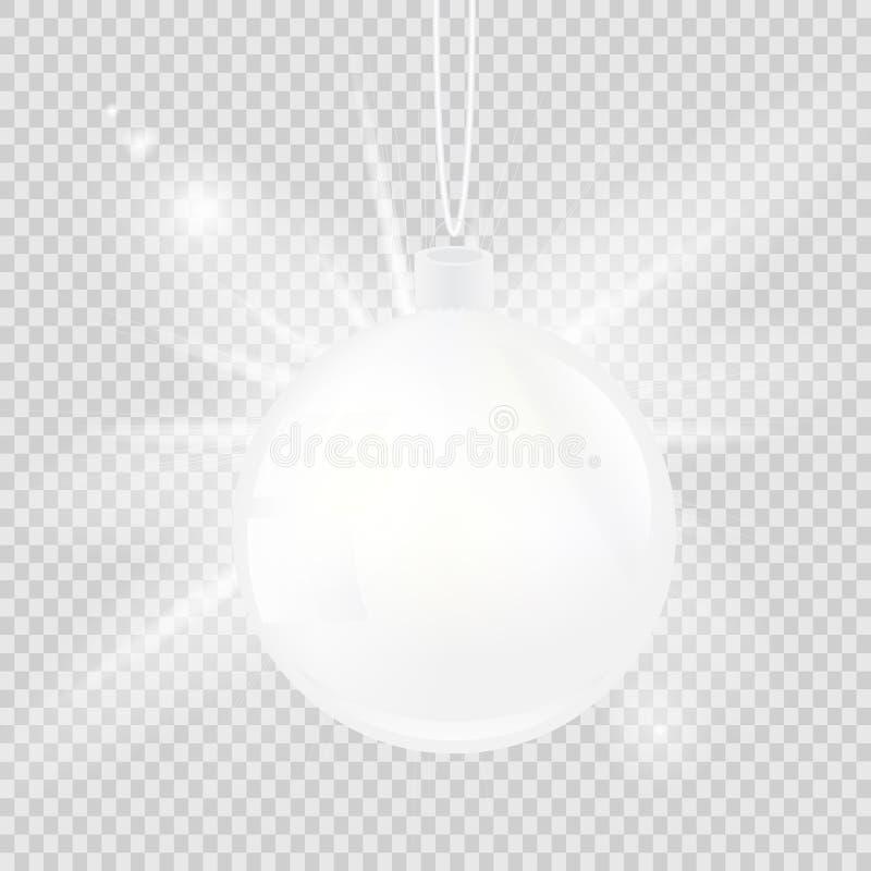 Vit jul klumpa ihop sig isolerat på en genomskinlig bakgrund också vektor för coreldrawillustration vektor illustrationer