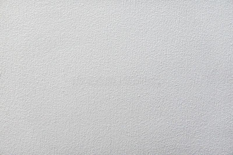 Vit kulör husfasad, ljus för tapet för modernt vitt för kalkstenmålarfärgvägg för textur begrepp för bakgrund grått sömlöst hem-  arkivfoton