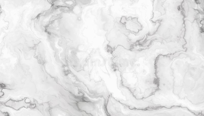 Vit lockig marmor royaltyfri illustrationer