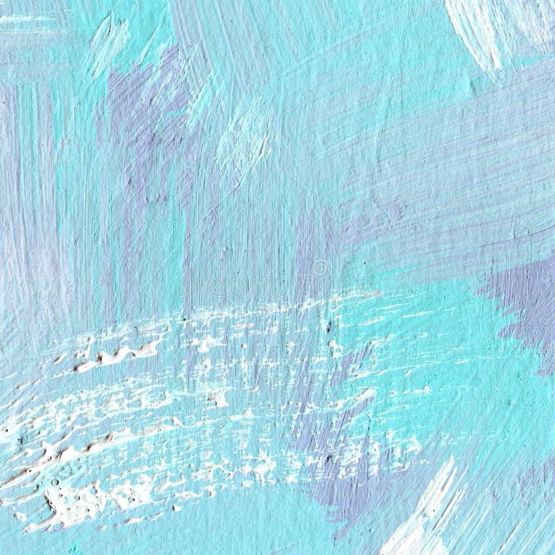 Vit målad texturerad bakgrund med borsteslaglängder vektor illustrationer