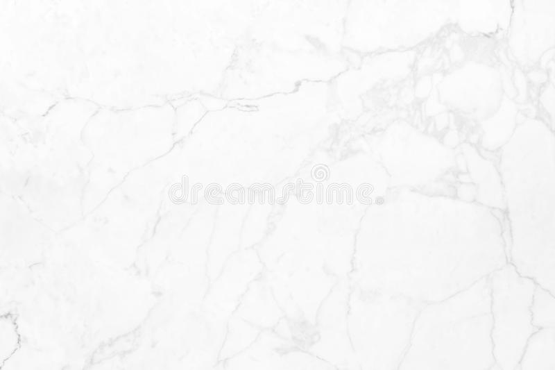 Vit marmor med naturliga modeller som används för bakgrunden royaltyfri fotografi