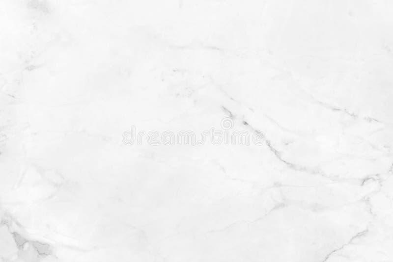 Vit marmor med naturliga modeller som används för bakgrunden royaltyfria foton