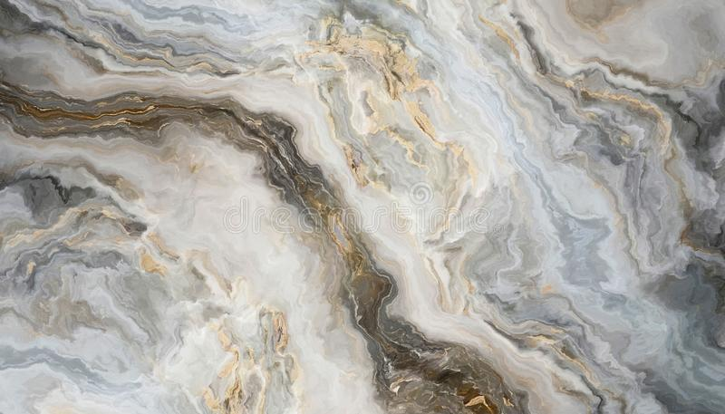 Vit marmorbakgrund stock illustrationer
