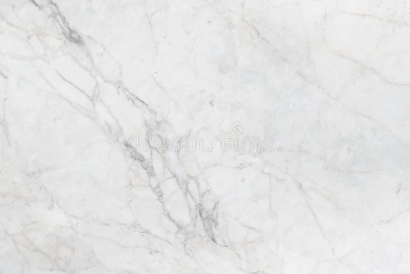Vit marmormodelltextur för bakgrund för arbete eller design royaltyfria bilder
