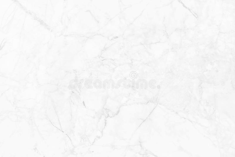 Vit marmortextur i den naturliga modellen, vitt stengolv arkivbilder