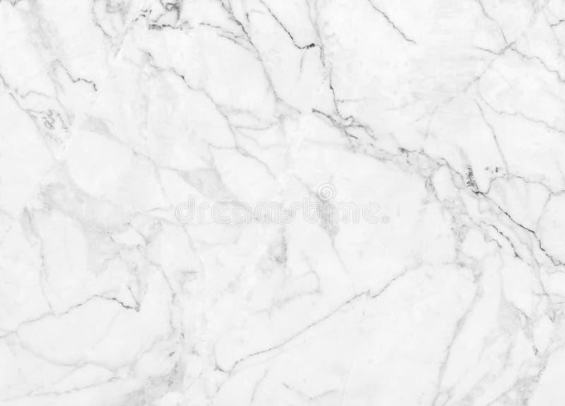 Vit marmortextur med den naturliga modellen för designkonstarbete royaltyfria foton