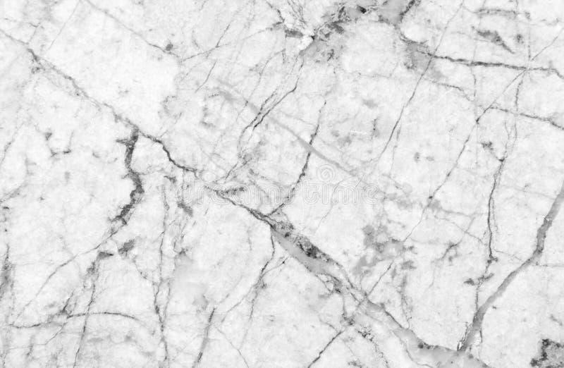 Vit marmortextur med massor av att kontrastera som veining arkivfoton