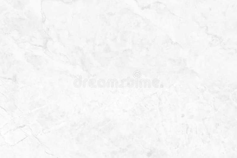 Vit marmoryttersida med härliga naturliga modeller Använt för design arkivfoto
