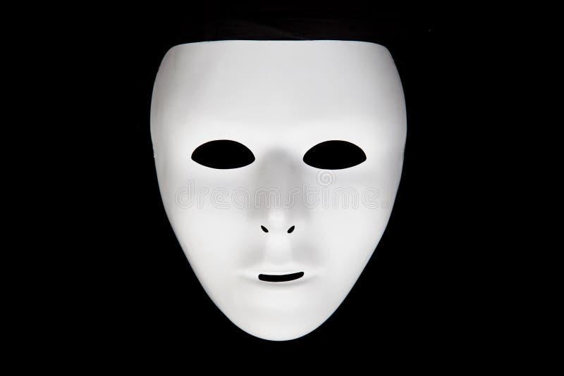 Vit maskering royaltyfri bild