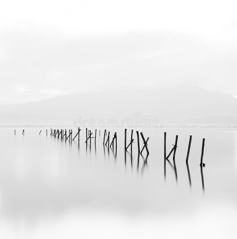 Vit minimalistic plats arkivbilder