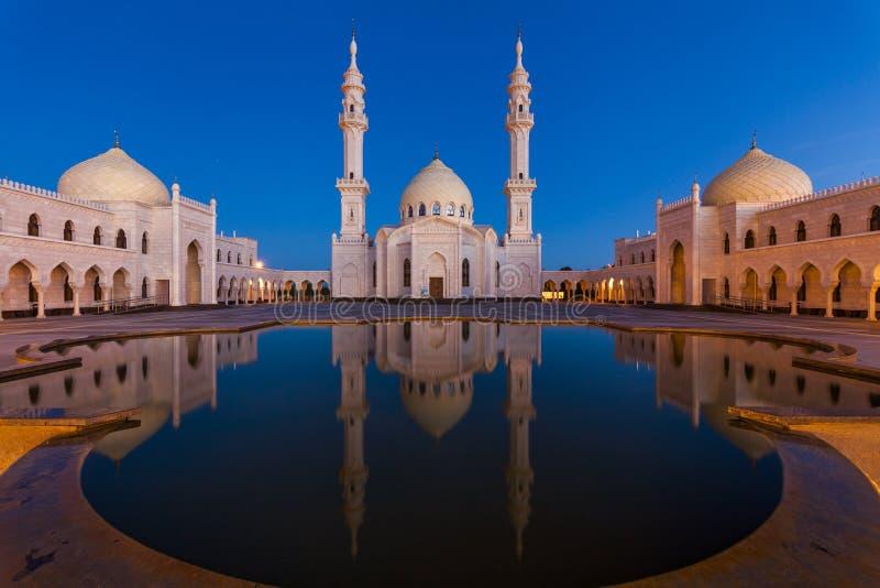 Vit moské i Bolgaren, Tatarstan, Ryssland royaltyfria foton