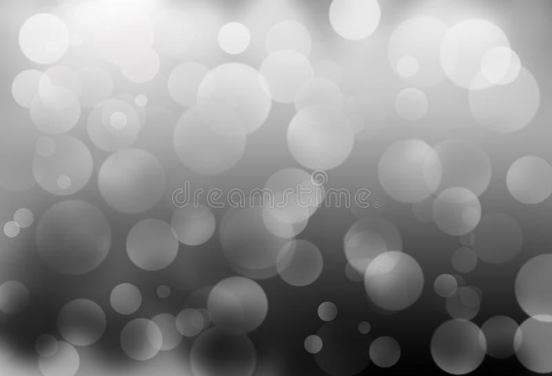 Vit- och grå färgfärg royaltyfri illustrationer