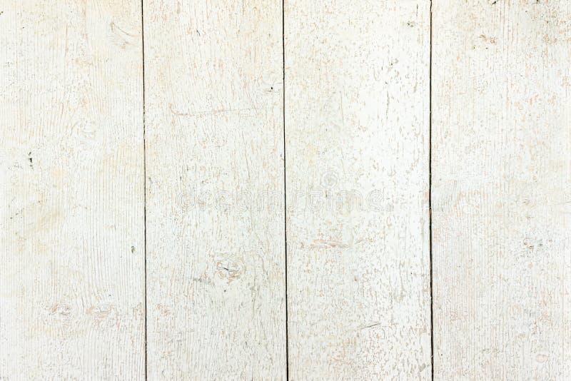 Vit organisk Wood textur ljust trä för bakgrund Gammalt tvättat trä arkivbild