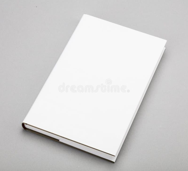 Vit räkning 5,5 x 8,8 för tom bok in royaltyfria foton