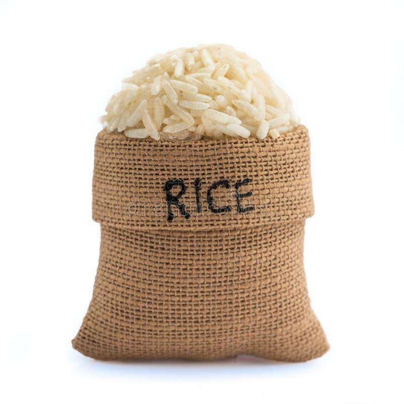 Vit rice arkivbild
