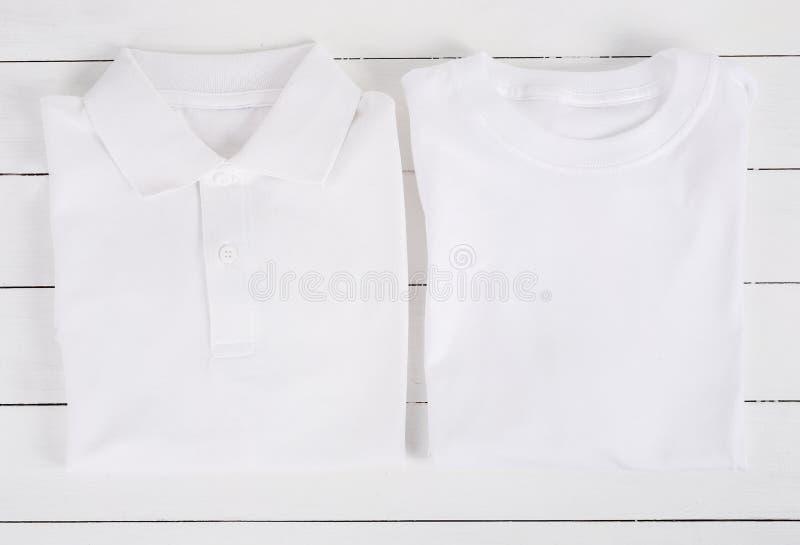 Vit skjorta arkivfoto