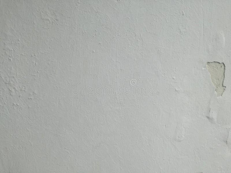 Vit sprickaväggtapet för grå färger eller arkivfoton
