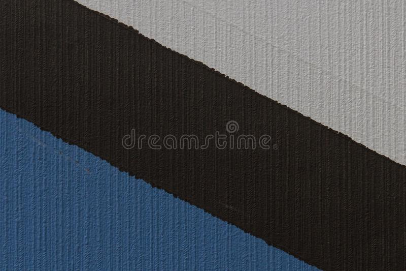 Vit-, svart- och blåtttextur royaltyfri foto