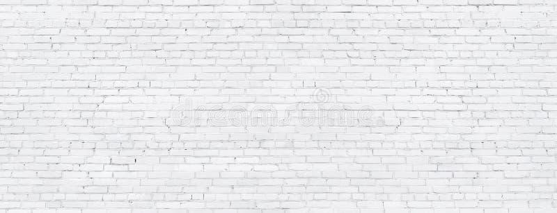 Vit tegelstenvägg, textur av det gjorde vit murverket som en bakgrund royaltyfria foton