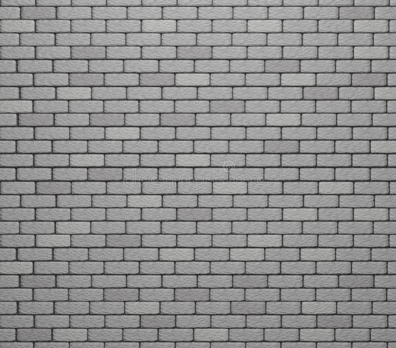 Vit textur/bakgrund för tegelstenvägg framför vektor illustrationer