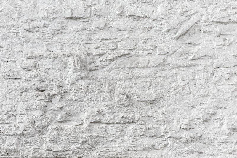 Vit textur för grunge för tegelstenvägg royaltyfri fotografi